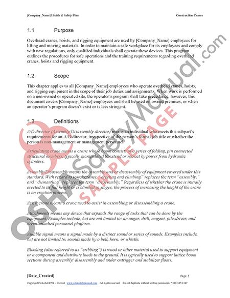 osha construction safety manual pdf