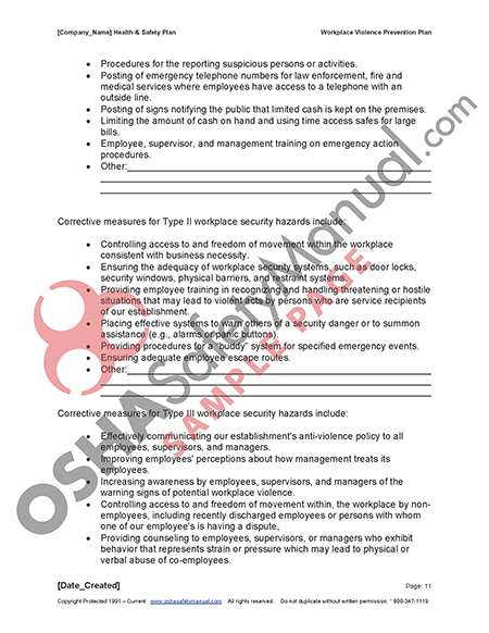 osh manual safety Services provided by the alaska occupational safety and health section policy and procedure manuals: compliance/enforcement – akosh field operations manual (fom.