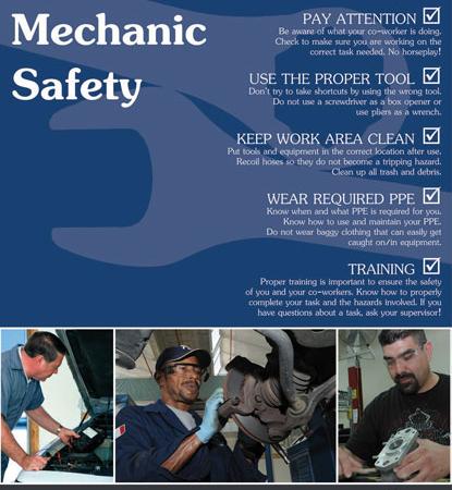 automotive-mechanic-safety-poster